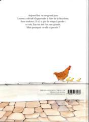 Lucette à bicyclette - 4ème de couverture - Format classique