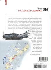 1945 ; Iwo Jima et Okinawa - 4ème de couverture - Format classique