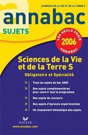 Annabac Sujets T.6 (édition 2006) - Intérieur - Format classique