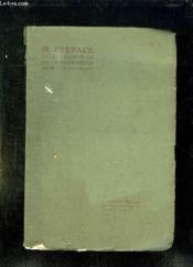 Preface Du Catalogue De La Bibliotheque De Mlp Couraud. - Couverture - Format classique