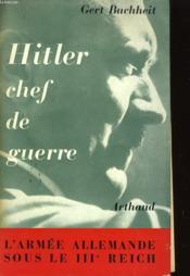 Hitler Chef De Guerre - Couverture - Format classique