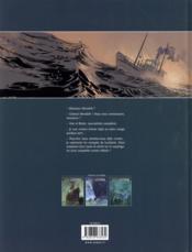 S.O.S. Lusitania T.3 ; la mémoire des noyés - 4ème de couverture - Format classique