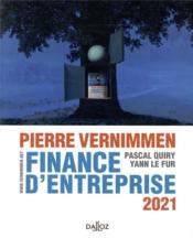 Finance d'entreprise (édition 2021) - Couverture - Format classique