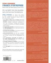 Finance d'entreprise (édition 2021) - 4ème de couverture - Format classique
