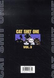Cat shit one t.3 - 4ème de couverture - Format classique