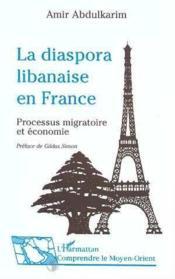 La Diaspora Libanaise En France - Couverture - Format classique