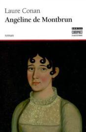 Angeline De Montbrunt - Couverture - Format classique