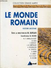 Le monde romain - Couverture - Format classique