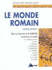 Le monde romain - Intérieur - Format classique