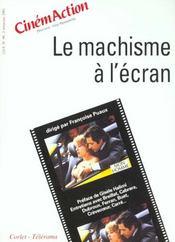 CINEMACTION N.99 ; le machisme à l'écran - Intérieur - Format classique