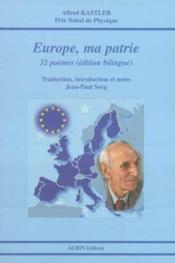 Europe, Ma Patrie - Couverture - Format classique