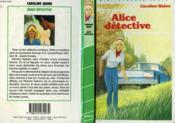 Alice détective - Couverture - Format classique