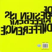 Agideas 20 years ; design is difference - 4ème de couverture - Format classique