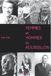 Femmes et hommes du Roussillon - Couverture - Format classique
