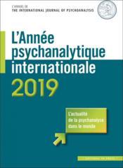L'année psychanalytique internationale (édition 2019) - Couverture - Format classique