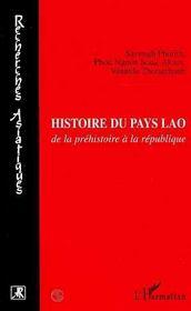 Histoire du pays Lao de la préhistoire à la republique - Intérieur - Format classique