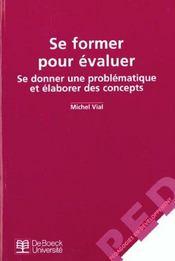 Se Former Pour Evaluer Se Donner Problem. & Elaborer Concepts - Intérieur - Format classique
