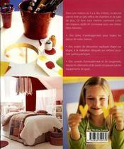 Une maison de rêve pour les enfants - 4ème de couverture - Format classique