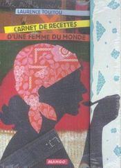 Carnet de recettes d'une femme du monde - Intérieur - Format classique