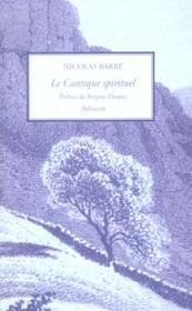 Cantique Spirituel - Couverture - Format classique