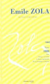 Emile zola oeuvres completes tome 9 nana 1881 - Intérieur - Format classique