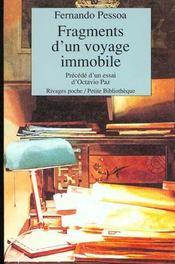 Fragments d'un voyage immobile (1ere ed) - Intérieur - Format classique