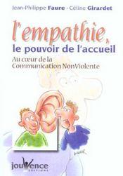 Empathie Le Pouvoir De L'Accueil (L') N.179 - Intérieur - Format classique