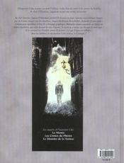 Bande dessinee t1 la momie - 4ème de couverture - Format classique