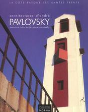 Architectures D'Andre Pavlovsky - Intérieur - Format classique