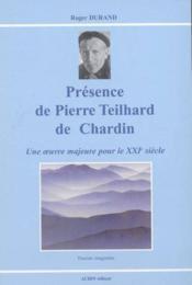 Presence de pierre teilhard de chardin - Couverture - Format classique