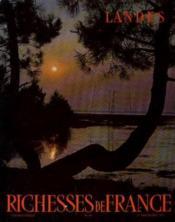 Landes -richesses de france. n°90 - Couverture - Format classique