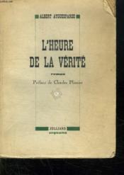 L Heure De La Verite. - Couverture - Format classique