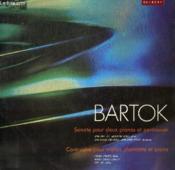 Disque Vinyle 33t Sonate Pour Deux Pianos Et Percussion, Contrastes Pour Violon Clarinette Et Piano. - Couverture - Format classique
