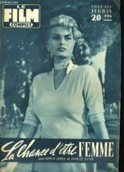 Film Complet N° 604 - La Chance D'Etre Femme - Couverture - Format classique