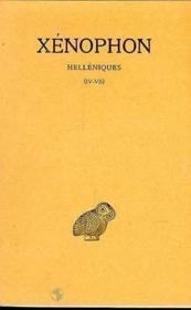 Hélléniques t.2 ; livre IV-VII - Couverture - Format classique