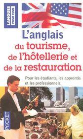 L'anglais du tourisme, de l'hôtellerie et de la restauration - Intérieur - Format classique