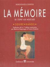 Memoire (la) - Couverture - Format classique