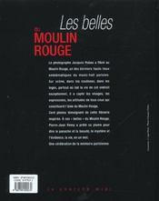 Les belles du Moulin Rouge - 4ème de couverture - Format classique