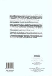 Guide de choix et d'utilisation des solvants - 4ème de couverture - Format classique