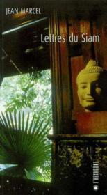 Lettres de Siam - Couverture - Format classique