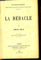 La Debacle - Couverture - Format classique