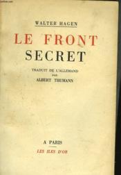 Le Front Secret - Couverture - Format classique