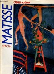 Le Nouvel Observateur Special Matisse - Couverture - Format classique