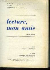 Lecture, Mon Amie - Cours Moyen - Couverture - Format classique
