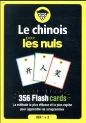 Le chinois pour les nuls ; 356 flash cards - Couverture - Format classique