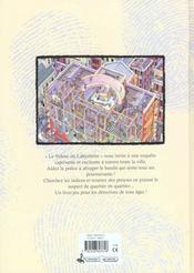 Le voleur du labyrinthe - 4ème de couverture - Format classique