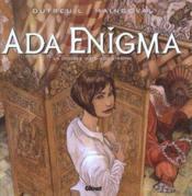 Ada Enigma t.2 ; la double vie d'Ada Enigma - Couverture - Format classique
