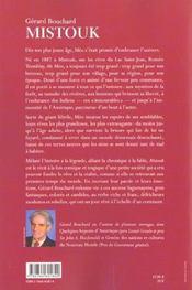Mistouk - 4ème de couverture - Format classique
