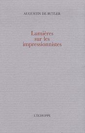 Lumières sur les impressionnistes - Intérieur - Format classique