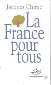 La France pour tous - Couverture - Format classique